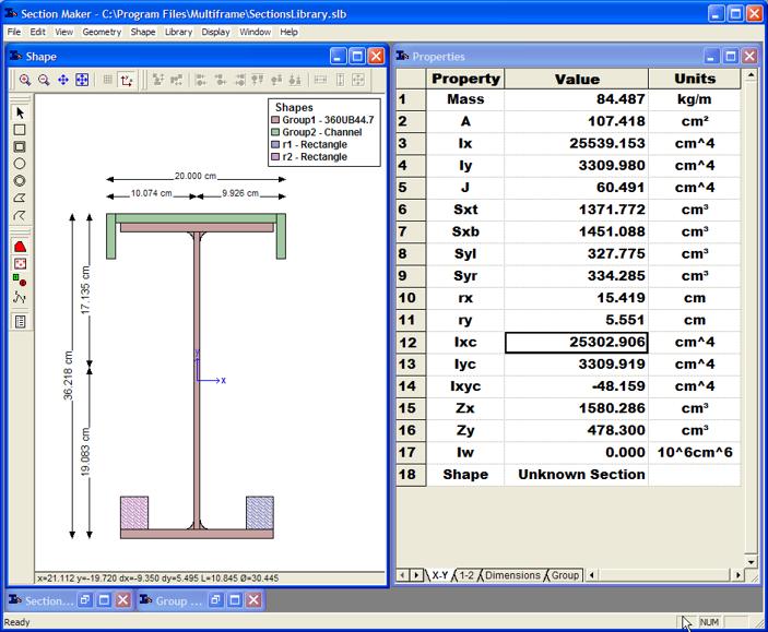 Multiframe Shape Editor